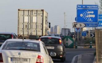 Radares en la carretera. Foto de Juan J. Monzo