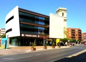 Edificio de servicios y Policia  Local de Alaquas